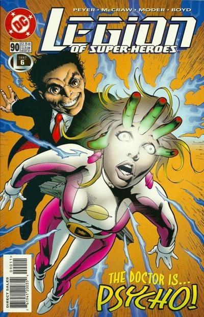 Legion of Super-Heroes #90