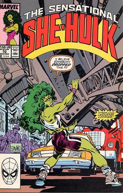 The Sensational She-Hulk #10