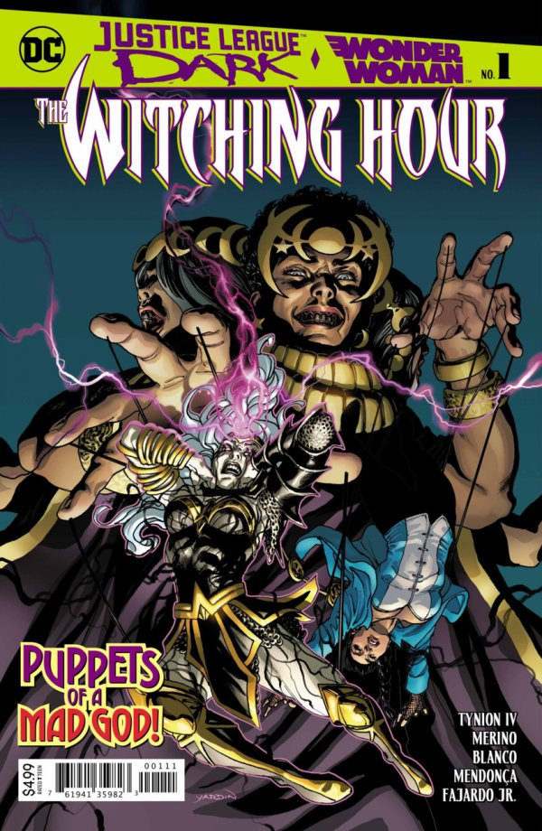 Justice League Dark and Wonder Woman: The Witching Hour #1