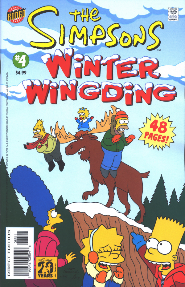 The Simpsons: Winter Wingding #4