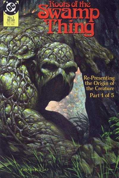 Roots of the Swamp Thing #1