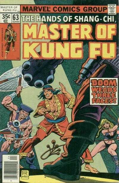 Master of Kung Fu #63