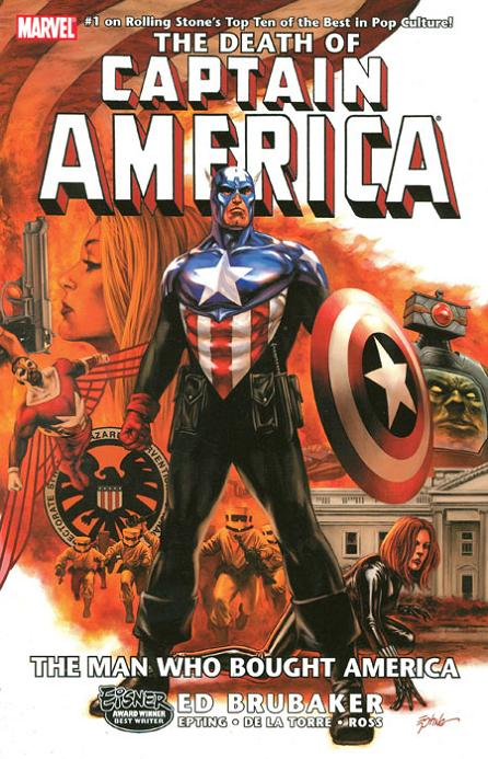 Captain America: The Death of Captain America Vol. 3 - The Man Who Bought America TP