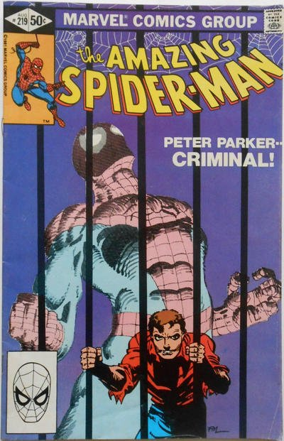 The Amazing Spider-Man #219