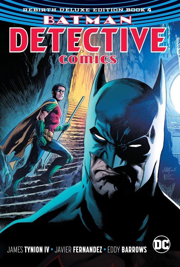 Detective Comics: The Rebirth Deluxe Edition Book Four HC
