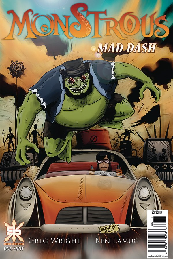 Monstrous: Mad Dash #1
