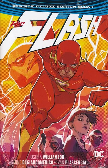 The Flash: The Rebirth Deluxe Edition Book 1 HC