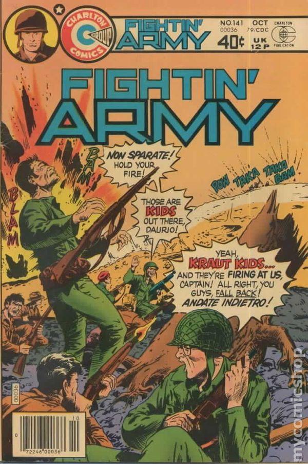 Fightin' Army #141