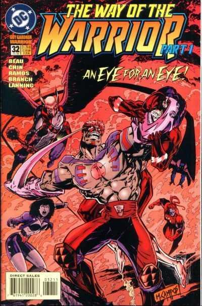 Guy Gardner: Warrior #32