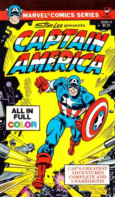 Marvel Comics Series #Stan Lee Presents Captain America