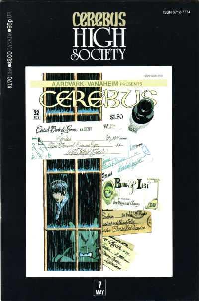 Cerebus High Society #7