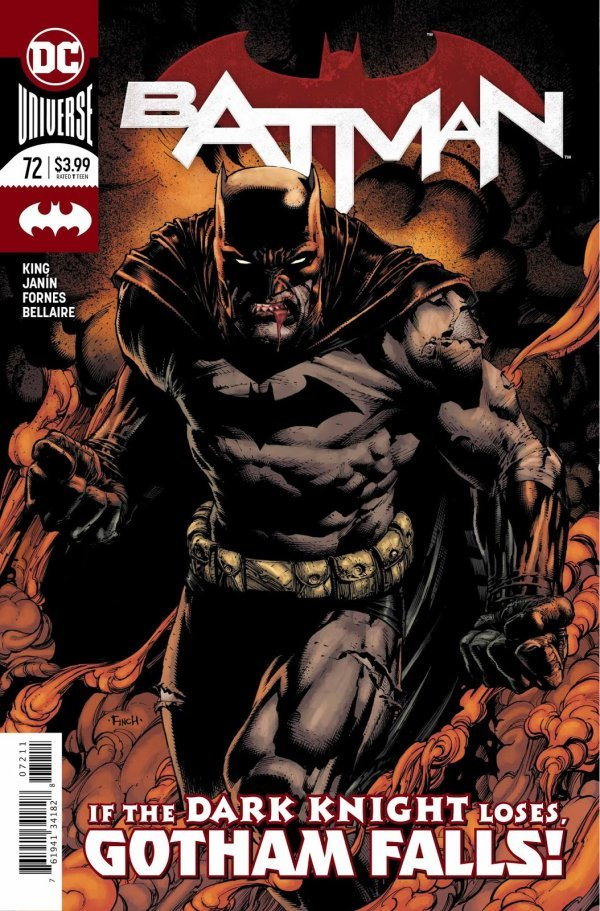 You lift him up just  Just to bring him down (Batman #72