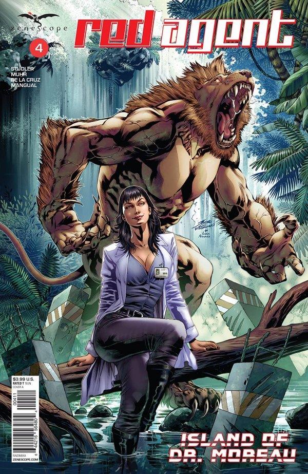 Red Agent: Island of Dr Moreau #4
