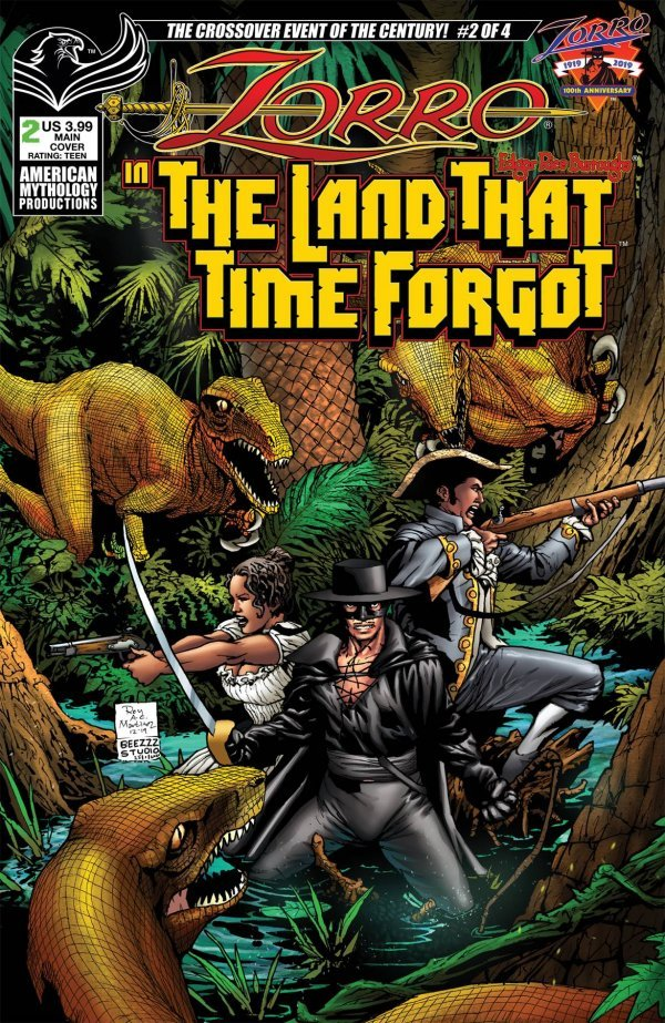 Zorro In Land That Time Forgot #2