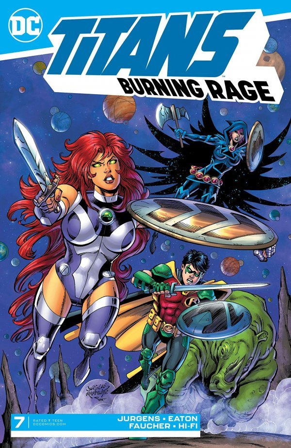 Titans: Burning Rage #7