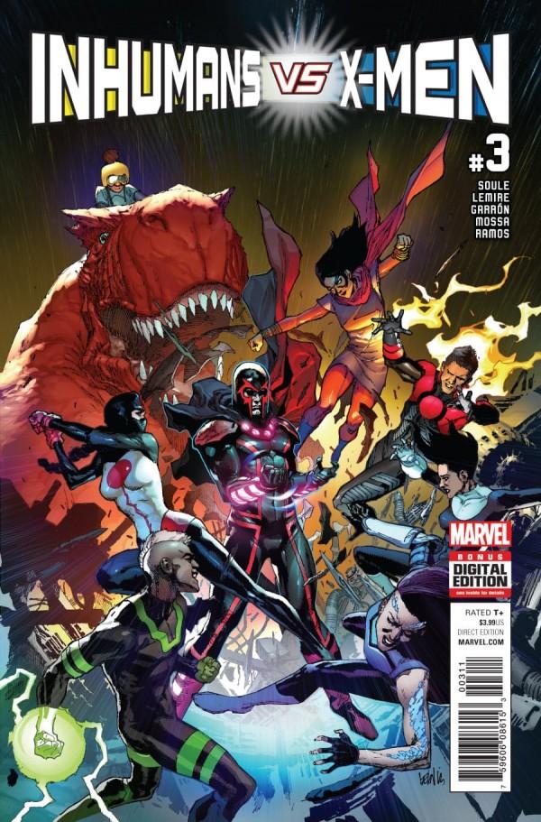 Inhumans vs. X-Men #3