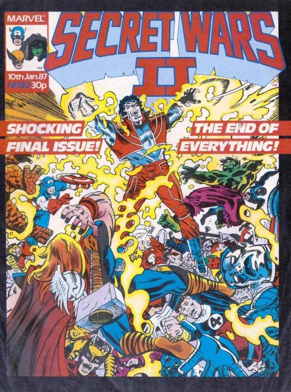 Marvel Super Heroes Secret Wars #80