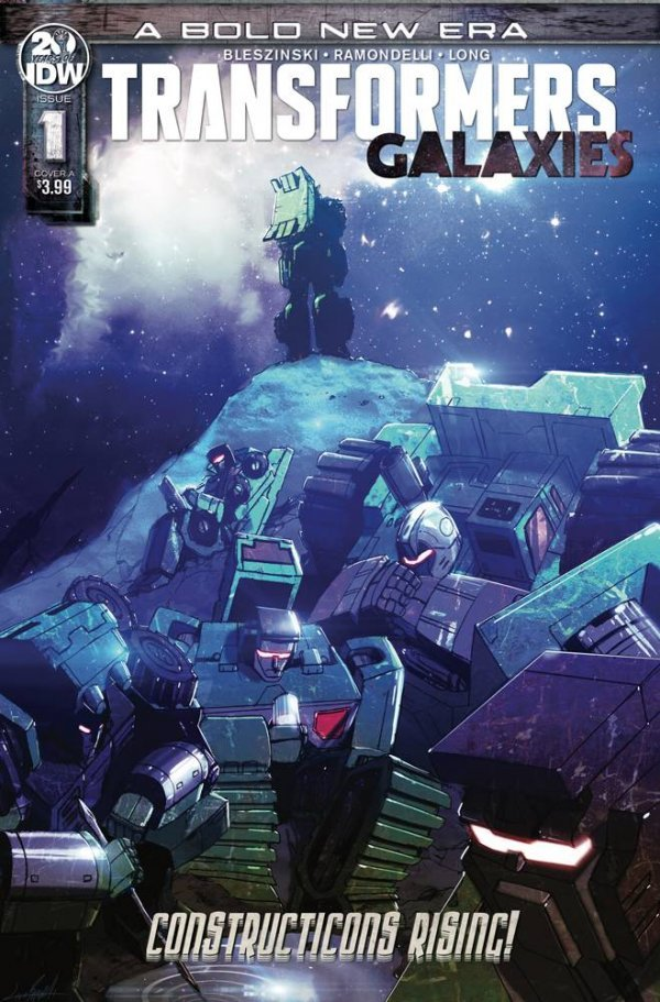 Transformers: Galaxies #1 Preview