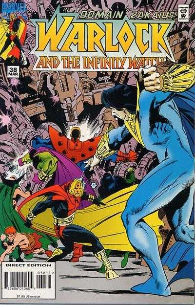 Warlock and the Infinity Watch #38