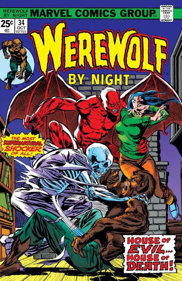 Werewolf By Night #34
