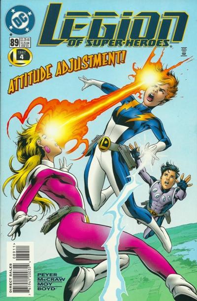 Legion of Super-Heroes #89