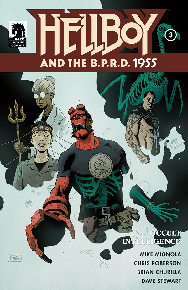 Hellboy and the B.P.R.D.: 1955—Occult Intelligence #3