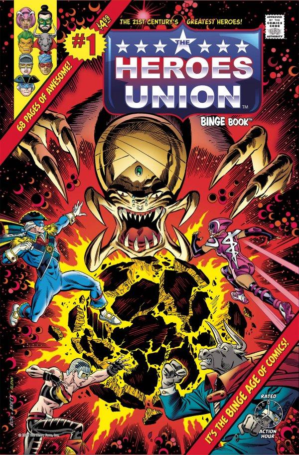 Heroes Union Binge Book #1
