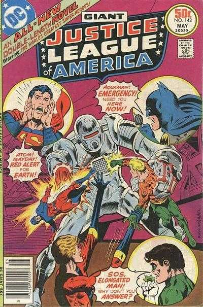 Justice League of America #142