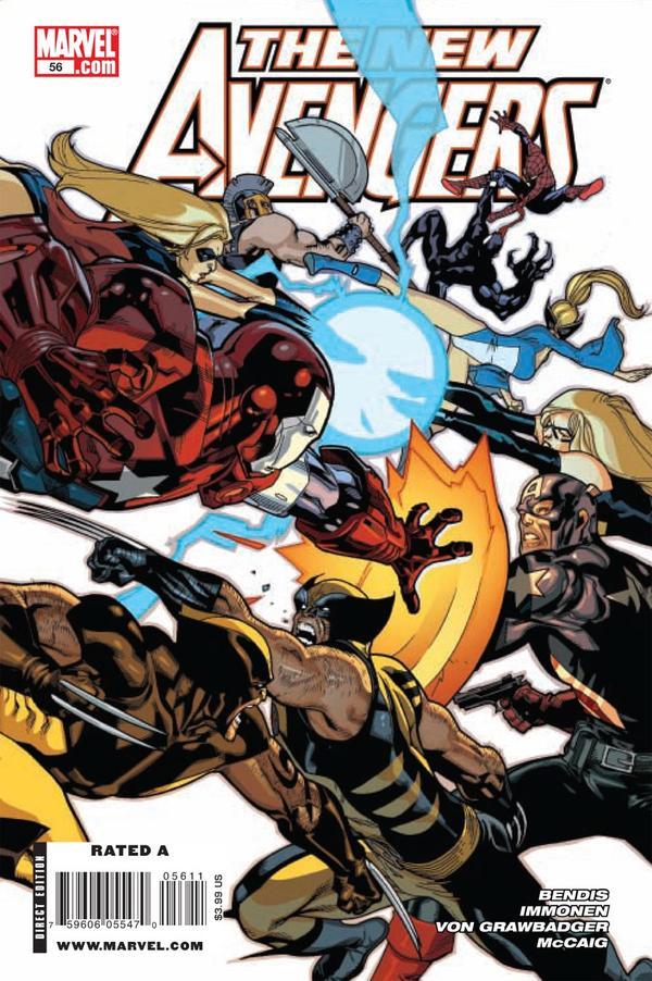 The New Avengers #56