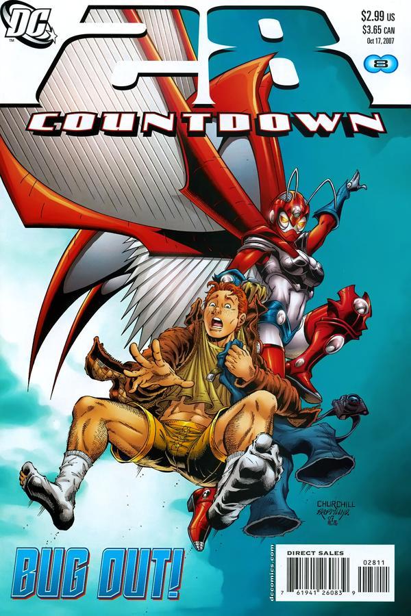 Countdown to Final Crisis #28