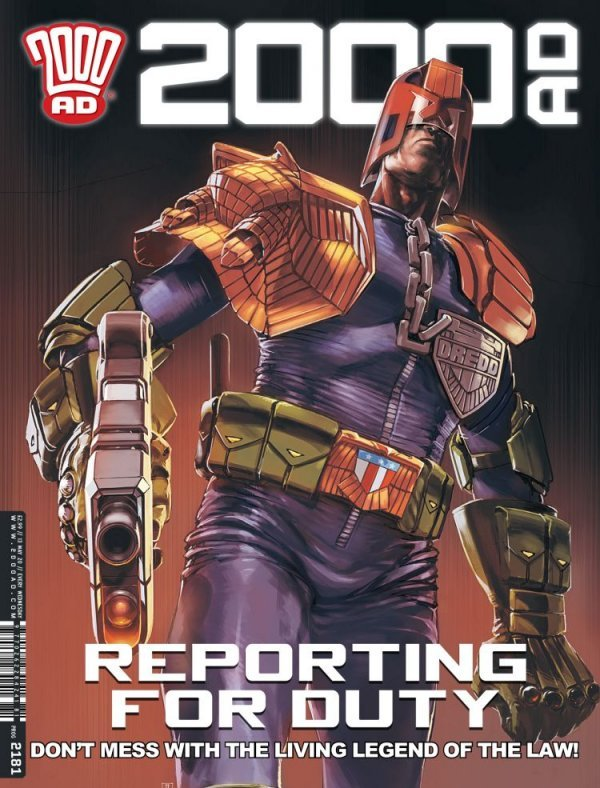 2000 AD #2181 review