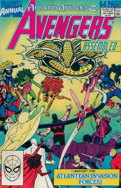 The Avengers Annual #18