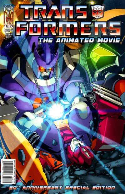 The Transformers Animated Movie Adaptation #4