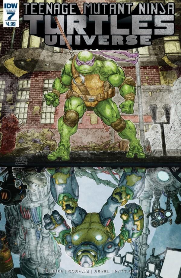 Teenage Mutant Ninja Turtles: Universe #7