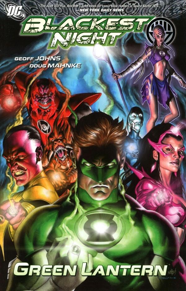 Blackest Night: Green Lantern TP