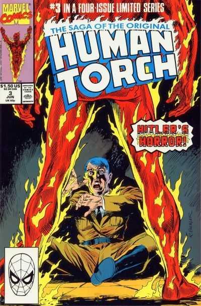 Saga of the Original Human Torch #3