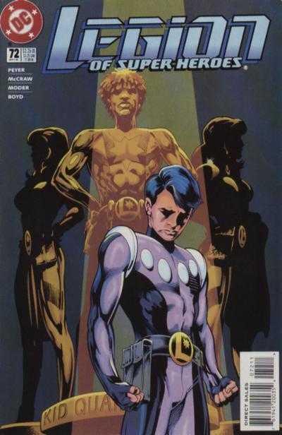 Legion of Super-Heroes #72