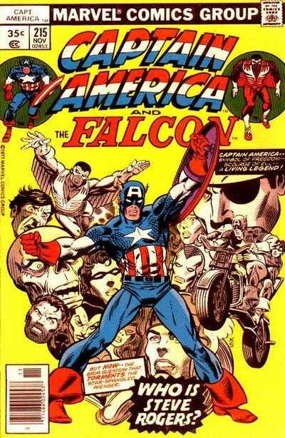 Captain America #215