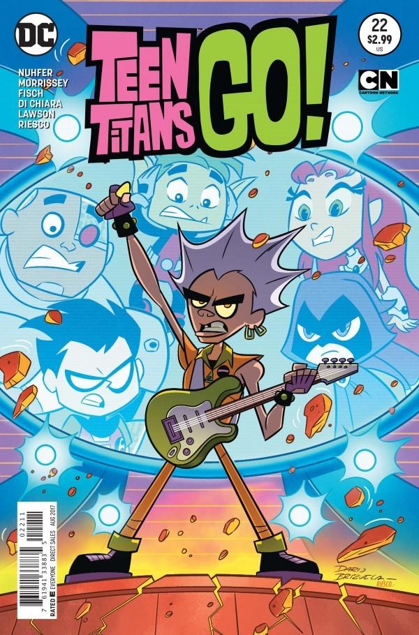 Teen Titans Go! #22