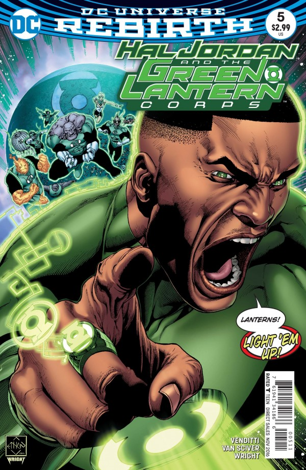 Hal Jordan and the Green Lantern Corps #5
