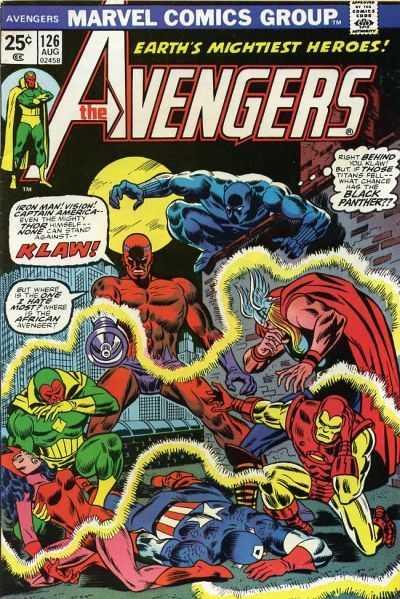 The Avengers #126