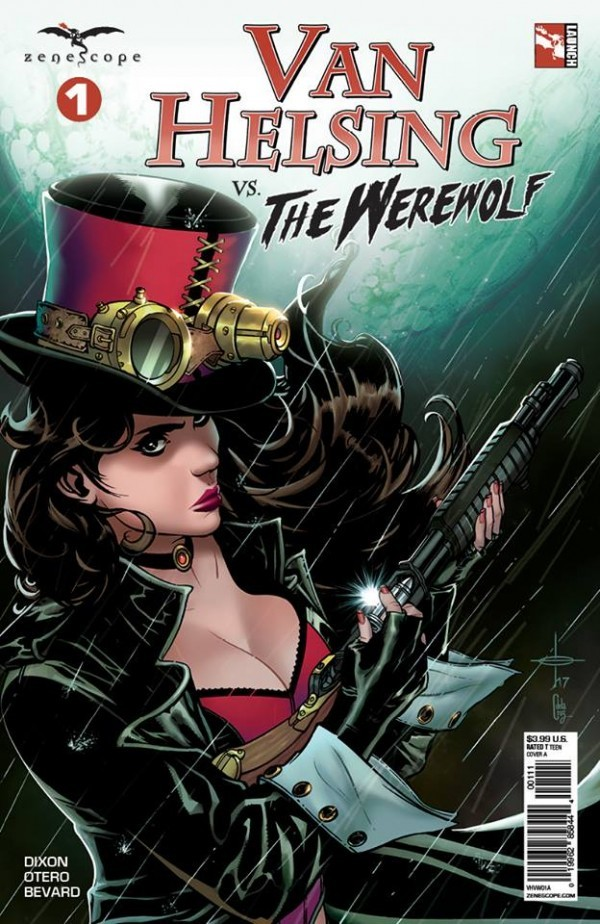 Van Helsing vs. The Werewolf #1