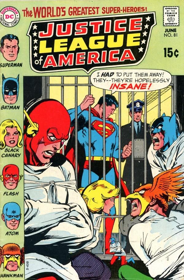 Justice League of America #81