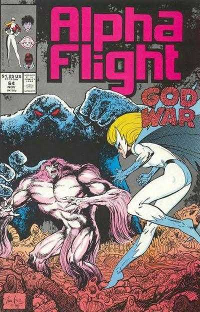 Alpha Flight #64