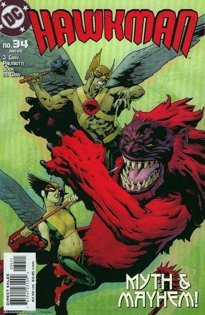 Hawkman #34
