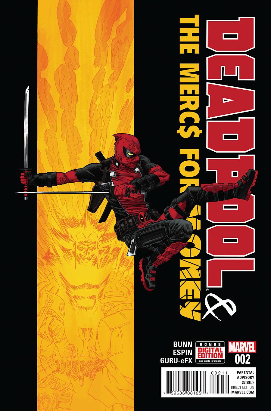 Deadpool & The Mercs for Money #2