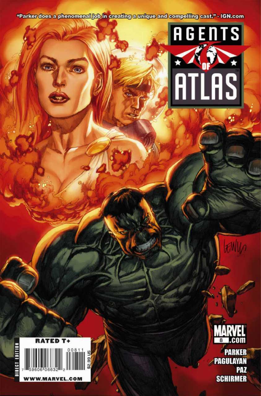 Agents of Atlas #8