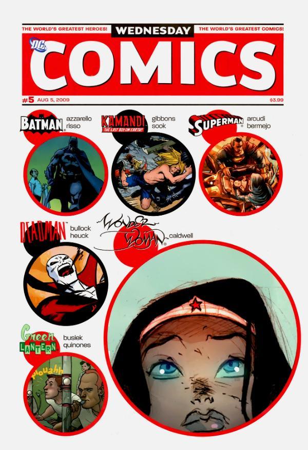 Wednesday Comics #5