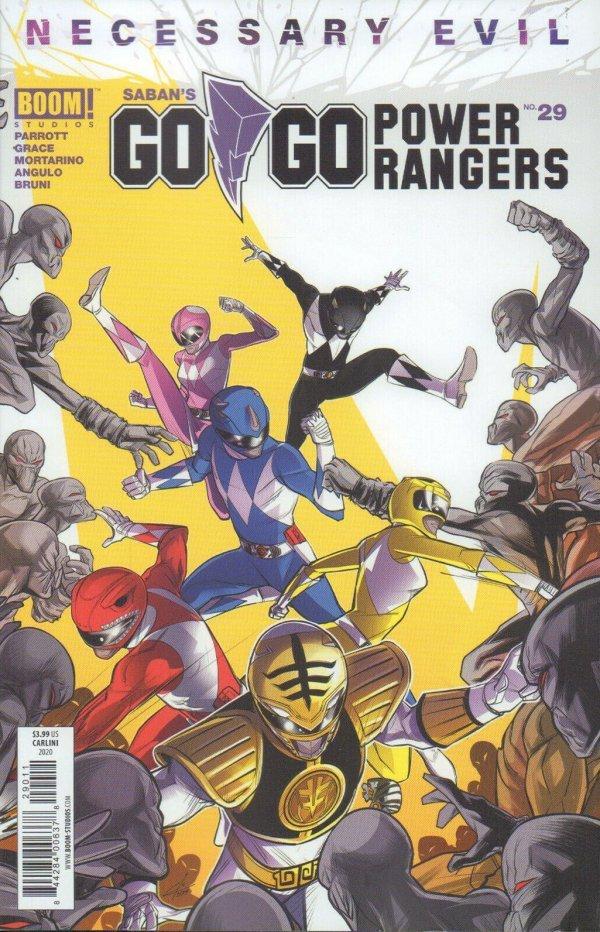 Go Go Power Rangers #29 review