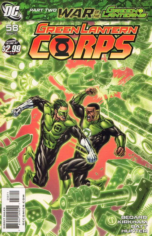 Green Lantern Corps #58